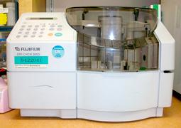 血液生化学装置 写真